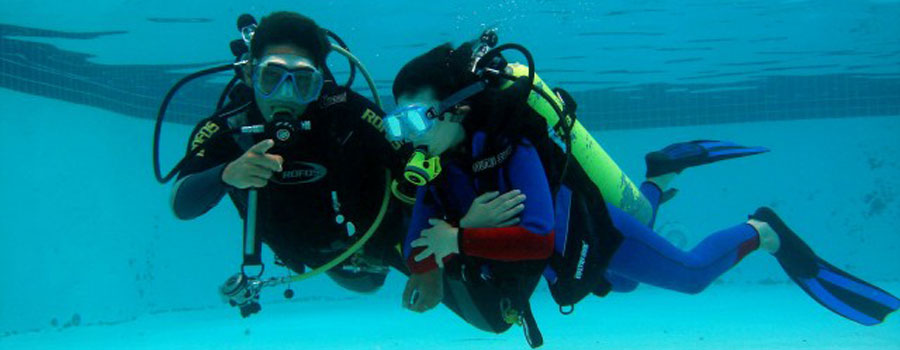 Dive Course and Fun dive Packages